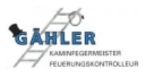 Kaminfegermeister Gähler